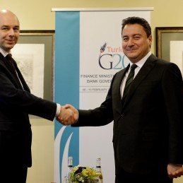 Bilateral Meeting Between DPM Babacan and Russian Minister of Finance Anton Siluanov