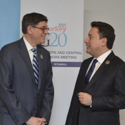 Bilateral Meeting Between DPM Babacan and US Treasury Secretary Jack Lew