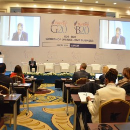"Turkey hosted G20-B20 Workshop on ""Inclusive Business"""