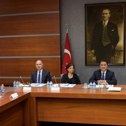 Deputy Prime Minister Ali Babacan's Meeting with the G20 Engagement Groups