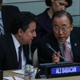 Deputy Prime Minister Babacan addressed the annual Special High-Level Meeting of the UN Economic and Social Council