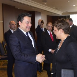 Deputy Prime Minister Babacan's Working Lunch with G20 Ambassadors in Ankara