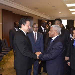 Deputy Prime Minister Babacan's G20 Working Lunch with LIDC Ambassadors in Ankara