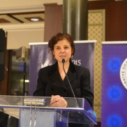Turkey's G20 Sherpa Ambassador Ayşe Sinirlioğlu addressed B20's Inaugural Event Dinner