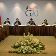 Deputy Prime Minister Babacan hosted LIDC Ambassadors in Ankara at a G20 Working Lunch
