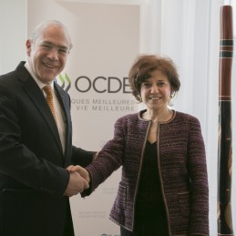 Turkey's G20 Sherpa Ambassador Sinirlioğlu Spoke at the OECD Council