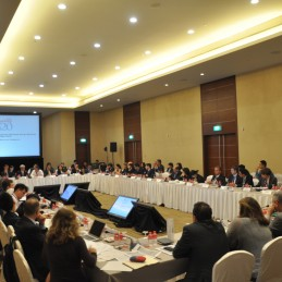 Second Investment and Infrastructure Working Group Meeting held in Singapore