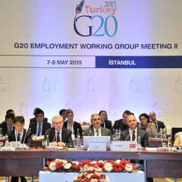 Second Meeting of the G20 Employment Working Group held in İstanbul