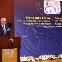 World SME Forum launched in Istanbul by G20 Turkish Presidency