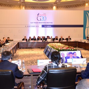 Turkey Hosted The G20 Trade Ministers Meeting in Istanbul