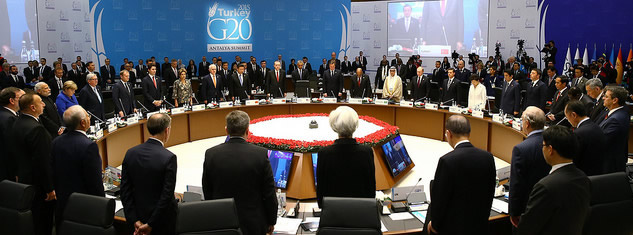 G20 Leaders agreed on a strong statement on the fight against terrorism