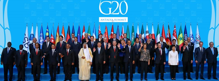 G20 Leaders' Communiqué agreed in Antalya