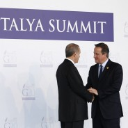 Prime Minister David Cameron held a press conference at the G20 Summit in Turkey